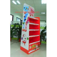 Quality Chocolate Cardboard Retail Displays supermarket point of sale display for sale