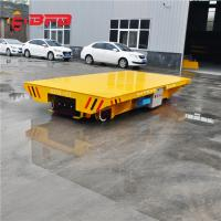 China Remote Control Pallet Transfer Carts , Industrial 1 - 300T Coil Transfer Cart on sale