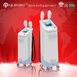 Quality SHR Hair removal machine / IPL Skin Rejuvenation Machine for sale