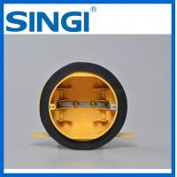 Round plastic Electrical Junction Boxes , electrical connector boxes
