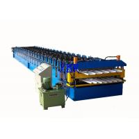 Quality Wall Panel / Roofing Corrugated Sheet Roll Forming Machine 23 Forming Group for sale