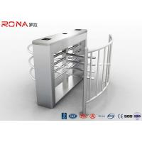 Quality Security Half Height Turnstiles High Transit Speed Access Control System for sale