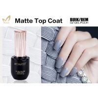 Quality Long Lasting UV Top Coat Gel Nail Polish For Nail Beauty Salon No Burn for sale