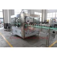 Quality Counter Pressure Juice Beverage Filling Line Commercial Beer Canning Equipment for sale