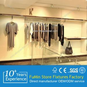 Quality round rotating clothes rack metal garment shelf for sale