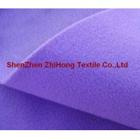 Quality 100% nylon colored brushed /napped loop fastener fabric for garment for sale