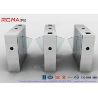 China Stainless Steel Turnstile Barrier Gate Swing Retractable Safety Flap Barrier Gate on sale