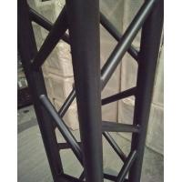 Buy 4 Sides Brace Tube 290*290mm Aluminum Black Spigot Truss for Outdoor Indoor Use at wholesale prices