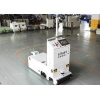 Quality Traction Unidirectional Tugger AGV Towing Vehicle With Laser Obstacle Sensor for sale