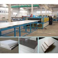Quality 3-18mm PVC Crust Foamed  plastic Board machine  good price in china for sale