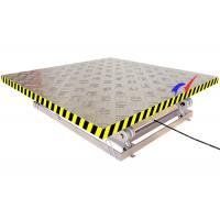 Quality 2 * 1.8m Platform Electric Lift Table Small Scissor Lift Table With 6m Lifting Height for sale