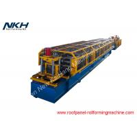 China Z Purlin Roll Forming Machine Pre Punching / Post Cutting Steel Roll Forming Machine on sale