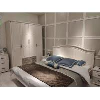 Buy cheap White Color European Contemporary Furniture Four Door Opening Wardrobe With Two from wholesalers