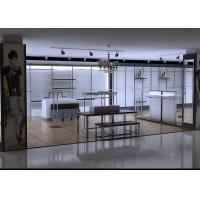 Quality Men Clothing Display Case / Store Display Fixtures Decorated With LED Spotlights for sale