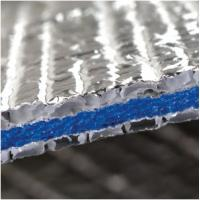 China Roof Ceilings Aluminum 6.5mm crosslinked closed XPE Foam Foil Insulation Reflective Foam isolation material on sale