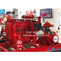 Quality Industrial High Pressures Split Case Fire Pump Centrifugal 1000GPM / 175PSI for sale