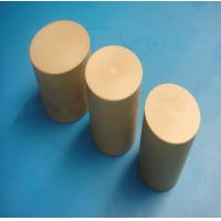 Quality Plastic Khaki PEEK Rods Stock Heat Resistance For Pump Housings for sale
