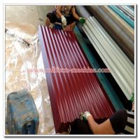 Quality Colored Steel Roofing Sheet, Corrugated Profile Zinc Iron Roof Cladding Panel, Metal Building Material for sale