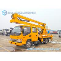 Quality JAC High Operation Aerial Platform Truck Left  / Right Hand Drive for sale