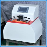 Quality Microcomputer Paper Testing Equipments , Fastness Ink Rub Tester for sale