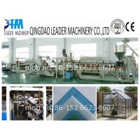 China with UV coating  polycarbonate pc solid/embossed sheet making machine on sale