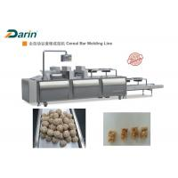 Quality Automatic Stainless Steel Energy Bar Manufacturing Equipment Cereal Bar / Ball Forming for sale