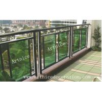 Quality Tempered / toughened glass for balcony  fence, balcony railing,terrace fence, terrace fence for sale