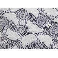 Quality 100% Polyester Wedding Dress Lace Fabric Embroidered Fabric By The Yard for sale