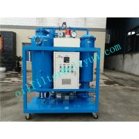 Quality TY Turbine Oil Filtration Plant,vacuum oil purification machine,oil recycling machine for stream turbine,blue color for sale