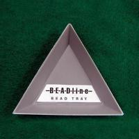 China 83mm Triangular Plastic Bead Tray, Available in Gray Color on sale