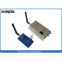 Buy cheap 12 Channels FM Analog Video Transmitter 1000mW Wireless AV Transmitter And Receiver from wholesalers