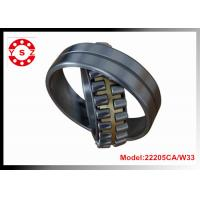 Quality 22205CA/W33 Chrome Steel Spherical Roller Bearing Double Rows With One Piece Brass Cage for sale