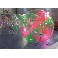 Quality Red Green Clear Aqua Ball Inflatable Water Walking Ball for Kids , Adults for sale