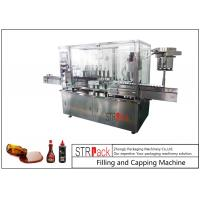 Quality 8 Head Syrup Automatic Filling And Capping Machine For Pharmaceutical Production Line for sale