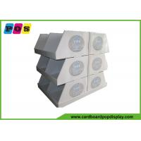 Quality Double Sided Cardboard Pallet Display Glossy Lamination For Homeware PA016 for sale