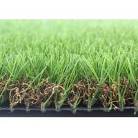 Quality 40mm U Shape Landscaping Artificial Grass For Residential Lead Free 4 Tone for sale