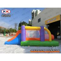 Quality Mini Size Inflatable Bouncer , Customized Jumping Castle With Slide for sale