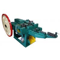 Customized Low Carbon Steel Wire Nail Machine With Horizontal Layout , ISO-9001 Approved