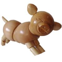 Buy PROMOTION!! THERE ARE SOME ARTIST WOODEN PIGS/RABBITS/GRAGONS/LIZARDS FOR SALE at wholesale prices