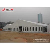 Contemporary Outside Wedding Tents , Flameproof Clear Wedding Tent OEM Available