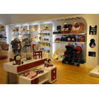 Quality Store Display Furniture / Children'S Store Fixtures Decorate With LED Strip Light for sale