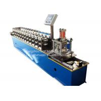 Quality Garage Rolling Shutter Door Frame Roll Forming Machine 1.0'' Chain Driven Type for sale
