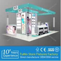 Quality luxury cosmetics kiosk showcase design to display eyeshade for sale