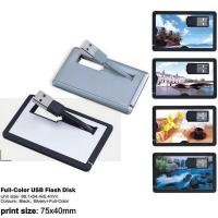 Quality Custom printed credit card usb flash , Full compatibility with USB 2.0 and 3.0 for sale