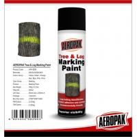 Quality Fluorescent Orange Tree And Log Marking Paint Waterproof With Strong Adhesive for sale
