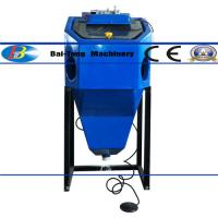 Quality Mini Suction Type Wet Sandblasting Cabinet 450*450*400mm Work Cabinet for sale