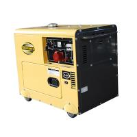 Quality 15L Fuel Tank Miniature Diesel Generator KDE6500T3 With Digital Control Panel for sale