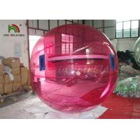 Quality 0.8mm PVC Colorful Inflatable Walk On Water Ball Water Walking Ball for sale
