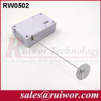 Buy Interactive Experience Retractable Security Tether With Adhesive ABS Plate at wholesale prices