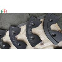 China AS2027 NiCr2-500 Ni Hard Casting Iron Concrete Mixer Wear Blades For Industry on sale